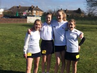 Yrs 7 & 8 at County Trials March 2016